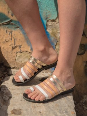 Patmos-handmade-greek-women-leather-sandals-ballsai