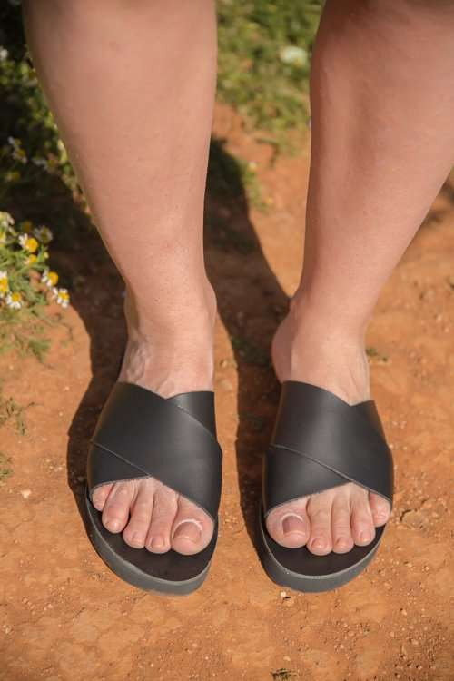 Amorgos Sandals for Women Leather Sandals