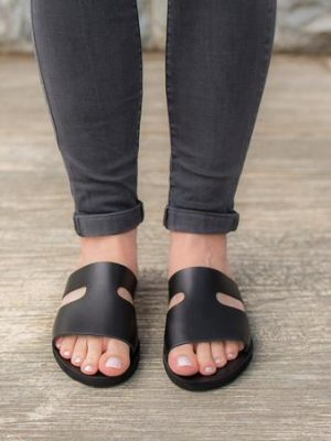 Lefkas-ballsai-women-black-slides-sandals-greece