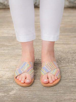 Zakinthos Handmade Leather Sandals for Women
