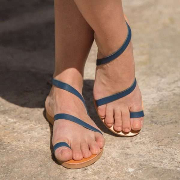 Fiscardo-Strap-leather-handmade-women- sandals