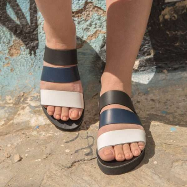 Agathippi ballsai greece handmade sandalls