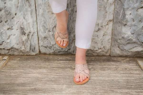Andros Women Handmade Leather Sandals