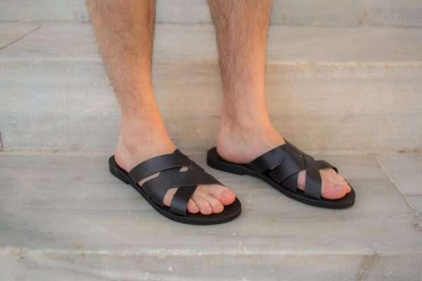 Aris ballsai sandals greece