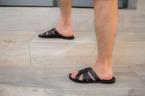 Aris ballsai sandals greece handmade summer