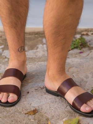 Platon-men-leather-handmade-sandals-slides-ballsai