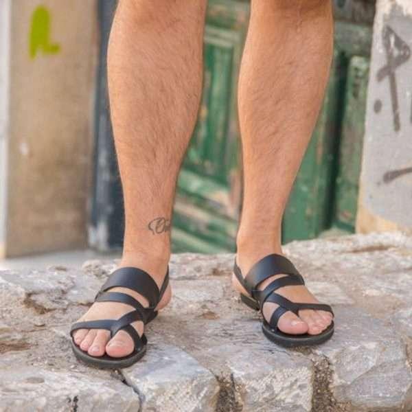 Socrates-ballsai-men-slides-sandals-greece-handmade