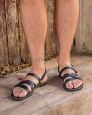 Aristotelis-ballsai-sandals-men-leather-handmade-greece