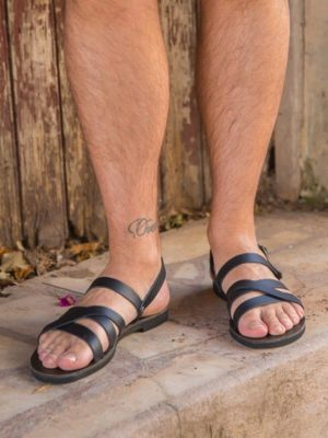 Aristotelis-ballsai-sandals-men-leather-handmade-greece