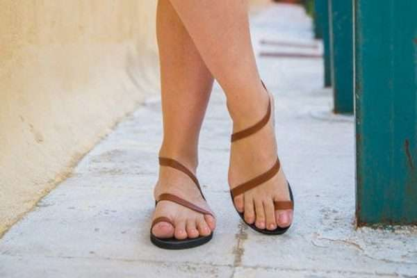 Kythira Handmade Leather Sandals for Women