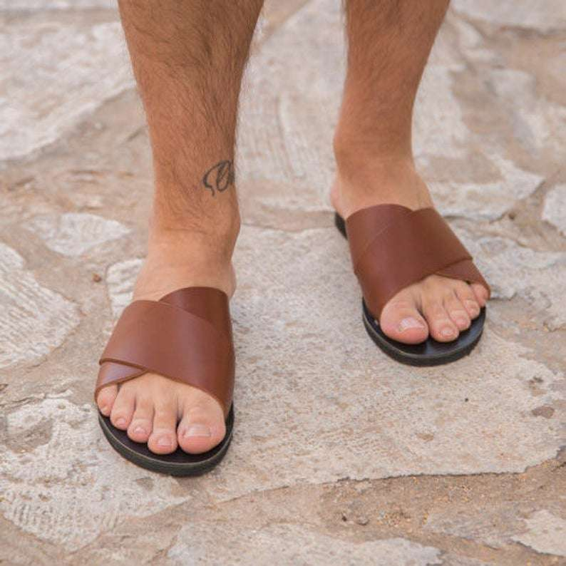 Handmade Greek custom sandals