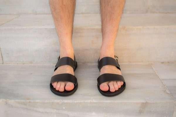 Nikitas- Slingback Men Sandals, Men Slides, Greek Men Slides