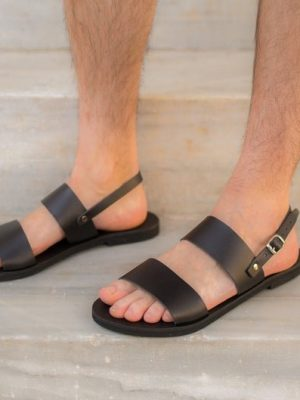 Nikitas- Slingback Men Sandals, Men Slides, Greek Men Slides