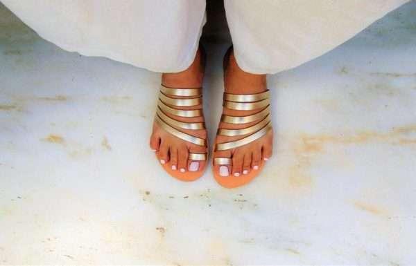 Antouan-Gold-Handmade-leather-women-sandals-ballsai