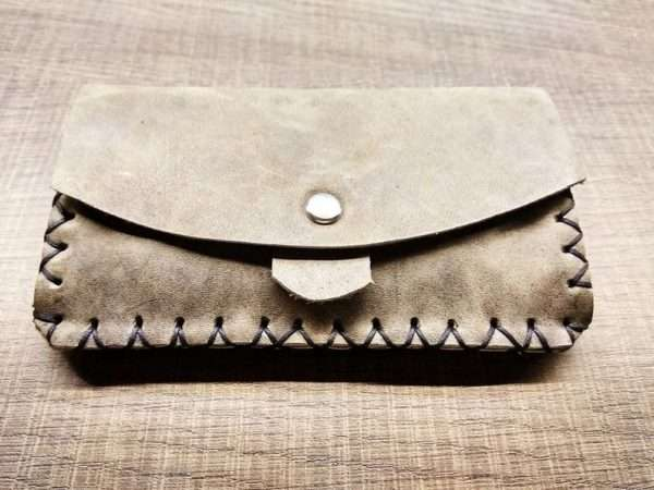 Leather wallet zipper ballsa greece athens leather