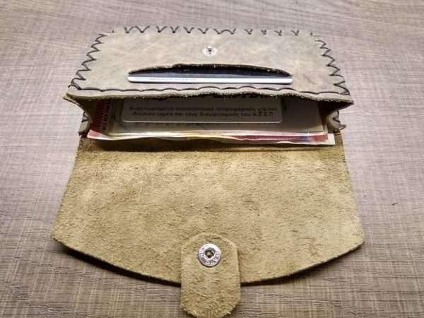 Leather wallet zipper ballsa greece athens leather handmade men women money