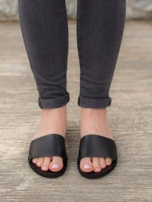 Lesvos-handmade-leather-women-slides-sandals-from-greece-make-with-love