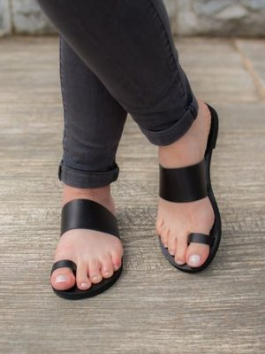 Samothraki-women-leather-greek-sandals-make-from-ballsai