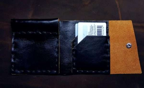 Mens Wallet greece ballsai handmade leather gift coin pocket birthdy