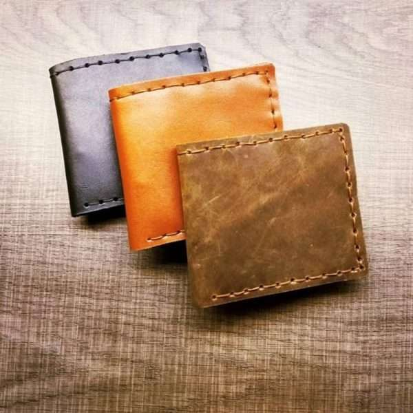 Thin Leather Wallet greece men handmade
