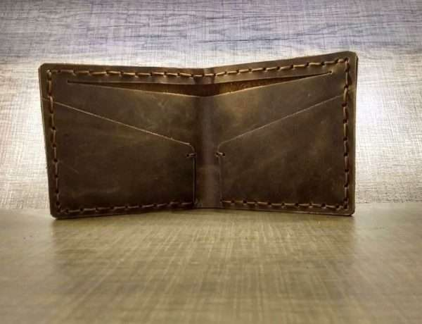 Thin Leather Wallet greece men handmade ballsai gift greece