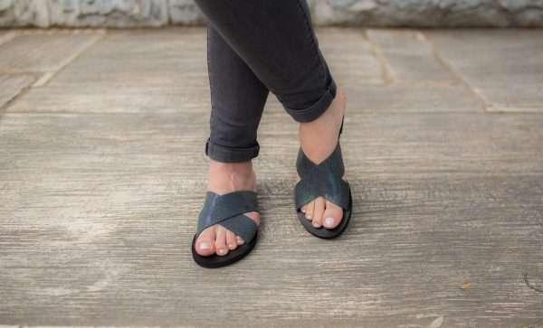 Santorini Sandals Women Handmade