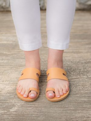 Cyclades-Sandals-Women-Leather-Slides-Handmade-Ballsai
