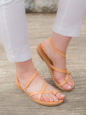 Karistos-handmade-leather-women-sandals-greece