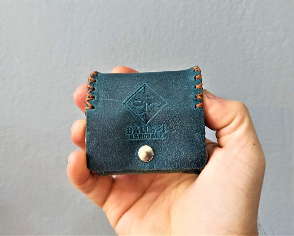 Leather Coin Purse, Handmade Leather wallet, Leather Wallet