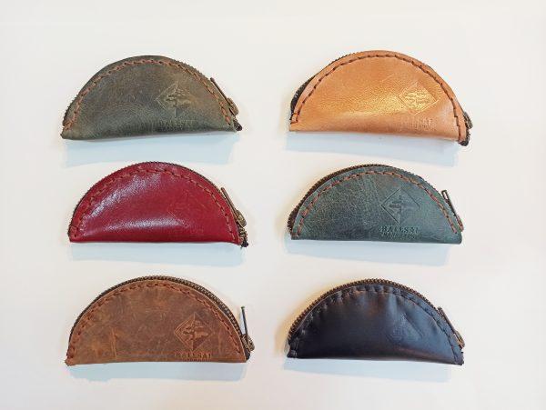 Leather Key Fob, Leather Key Holder, Leather Key case, Leather Key Poych, Leather Keychain, Handmade Leather Key case, Keycases, Keychains