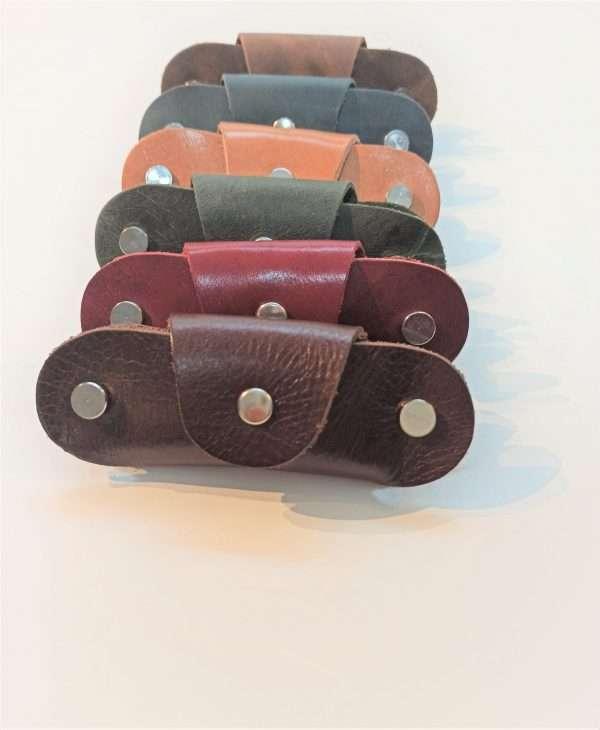 Leather Keychain, Leather Key case, Leather Key purse, Key organizer, Handmade Leather Key case, Leather Key Fob, Keycases,