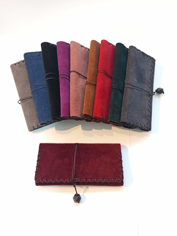 Leather Tobacco Pouch Suede, Handmade Leather Tobacco Pouch, Leather Rolling Pouch