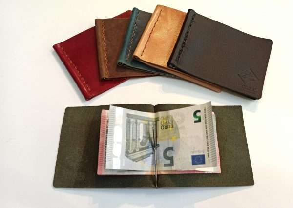 Leather Money Clip Wallet, Handmade Leather Wallet, Leather Wallet, Leather Money Wallet