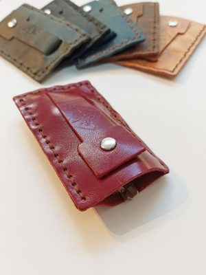 Leather Key Organizer, Leather Keychain, Handmade Leather Key Case
