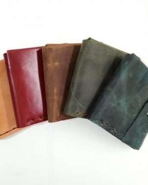 Handmade Leather Wallet, Leather Wallet, Leather Money clip Wallet