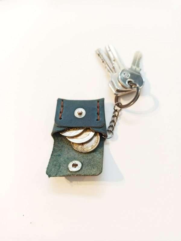 Handmade Leather Keyring, Leather Key holder, Leather key case
