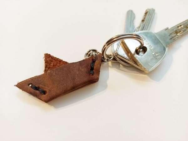 Handmade Leather Key Organizer, Leather Keyring, Leather keychain