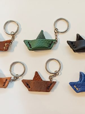 Handmade Leather Key Organizer, Leather Keyring, Leather keychain
