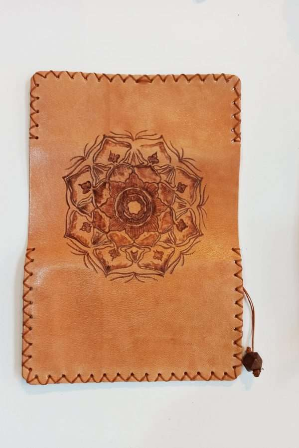 Handmade Rolling Pouch, Leather Tobacco Pouch, Leather Tobacco Case