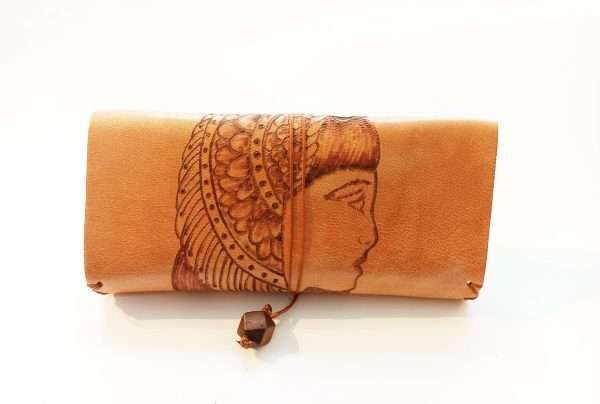Leather Tobacco Case, Handmade Leather Tobacco Pouch, Leather Rolling Pouch